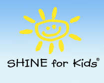 Logo: SHINE for Kids. Click to return to site home page