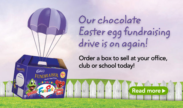 Our chocolate Easter egg fundraising drive is on again! � read more