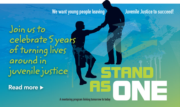 Join us to celebrate 5 years of turning lives around in juvenile justice