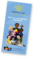 Click to download the SHINE for Kids ACT DL brochure